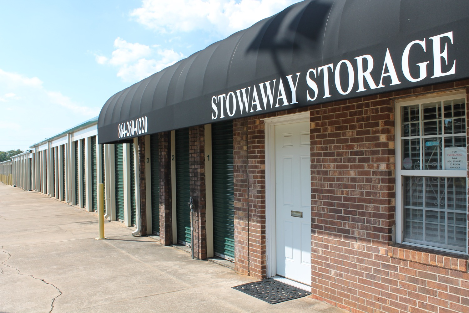 storage unit specials anderson sc
