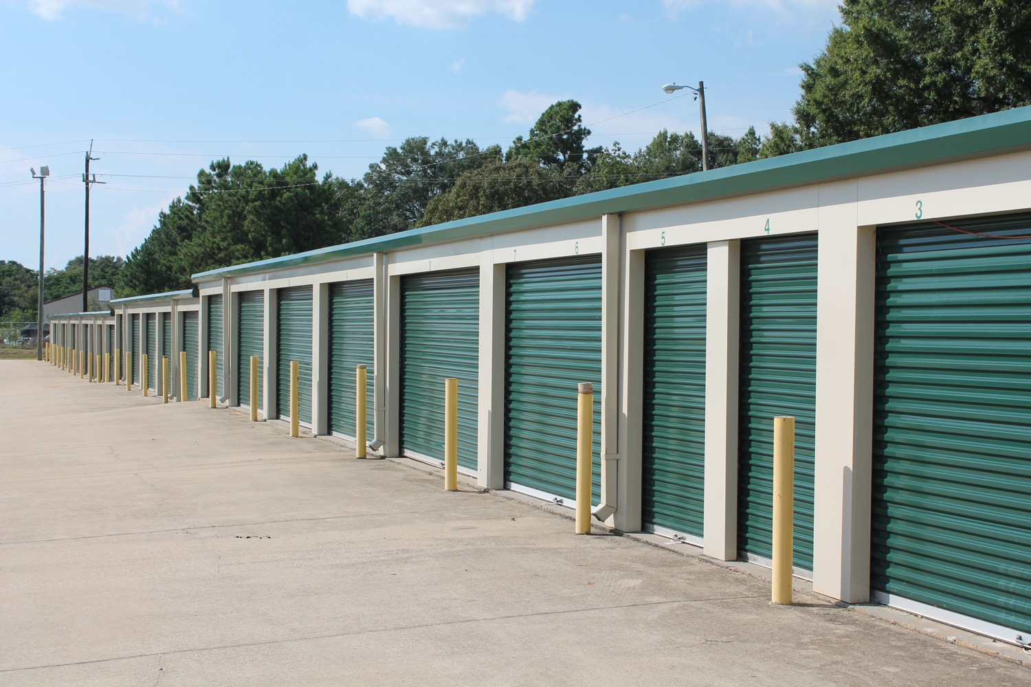multiple sizes storage units